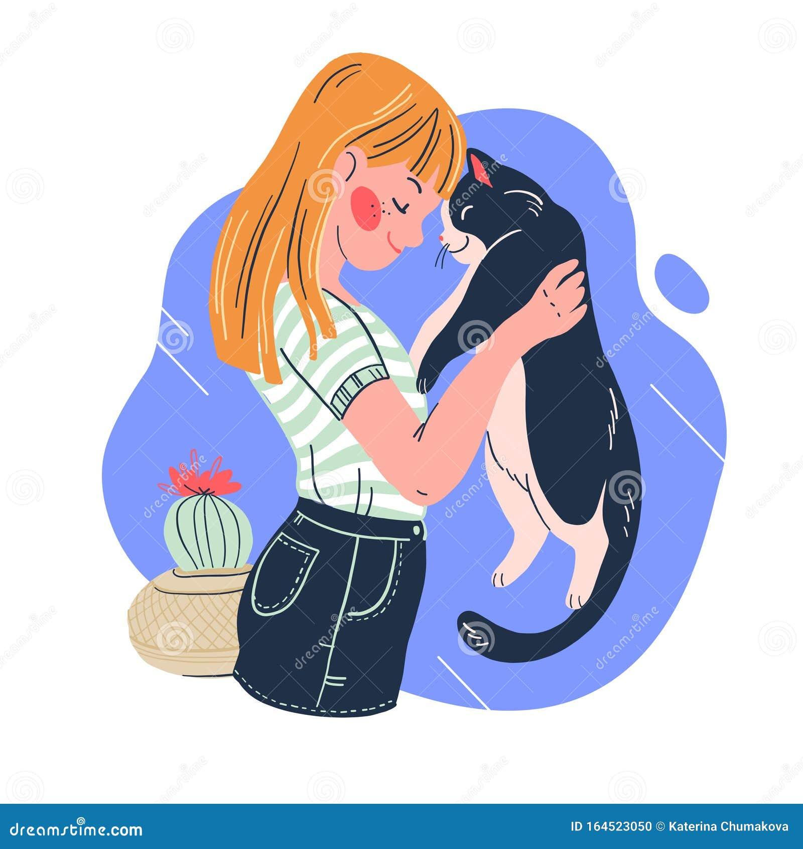 Cat Lover Stock Illustrations 1 900 Cat Lover Stock Illustrations Vectors Clipart Dreamstime