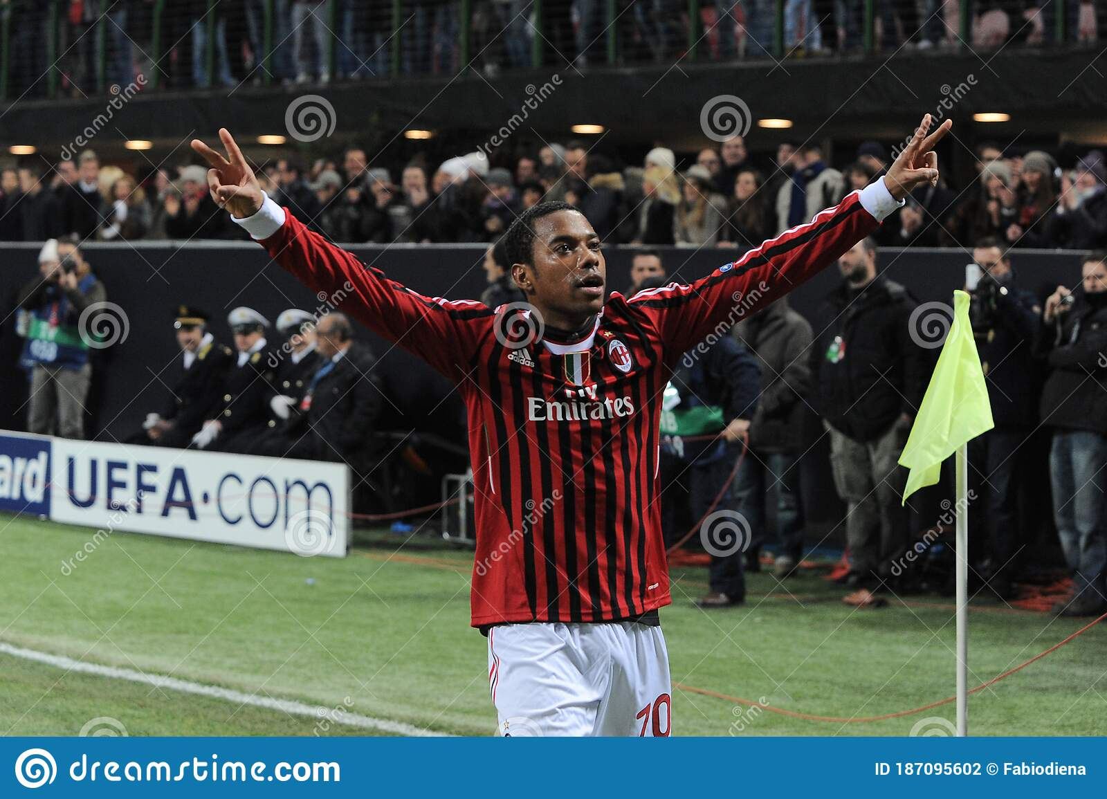 Ac Milan Fc Arsenal Editorial Photography Image Of February 187095602