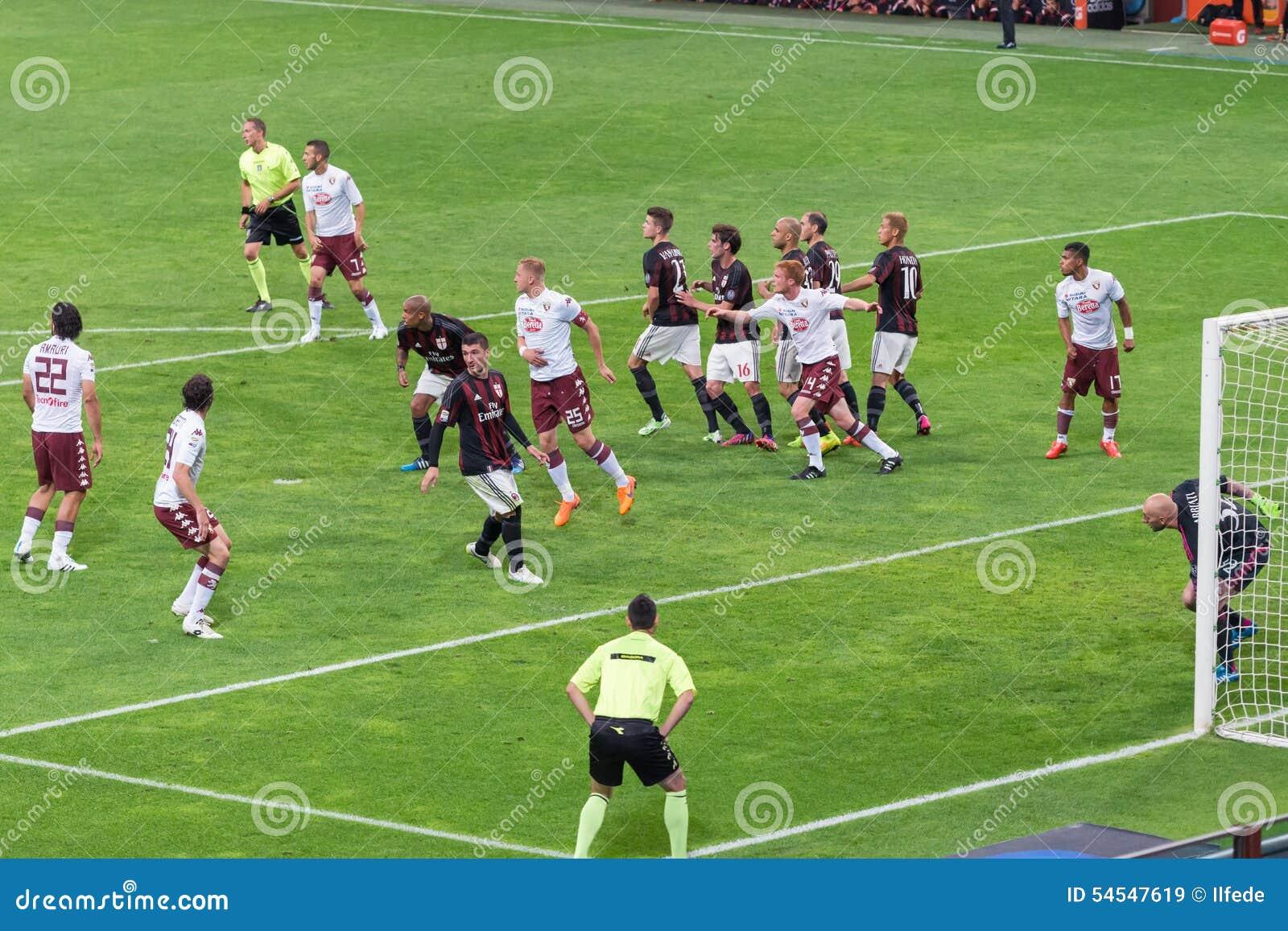 AC Milan Vs Torino FC In 2015 Editorial Stock Image ...