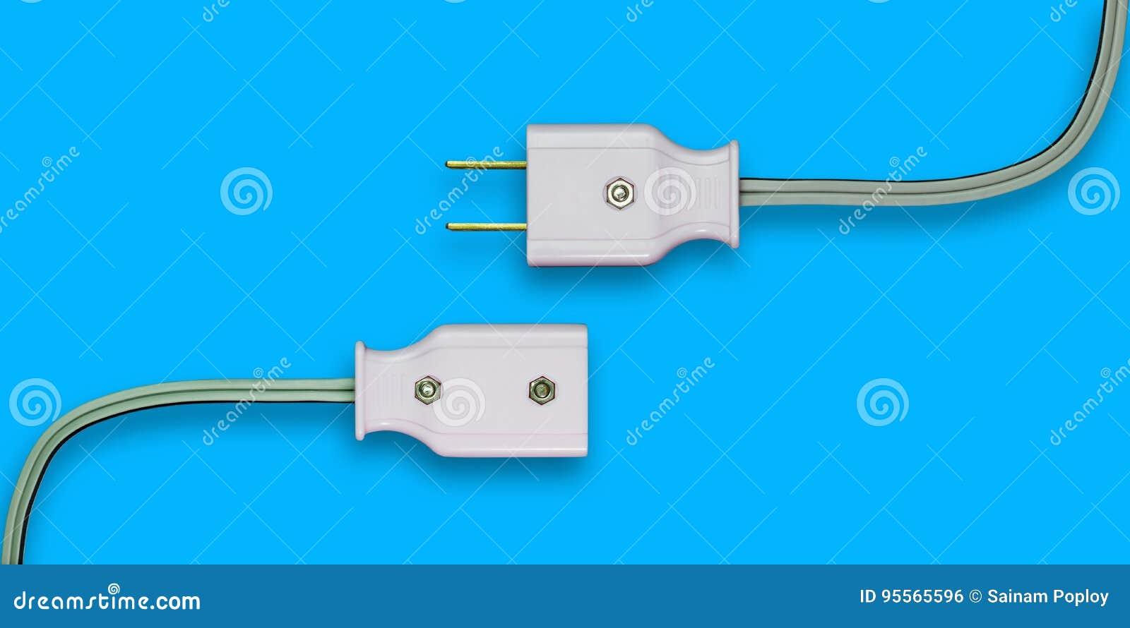 AC power plug.