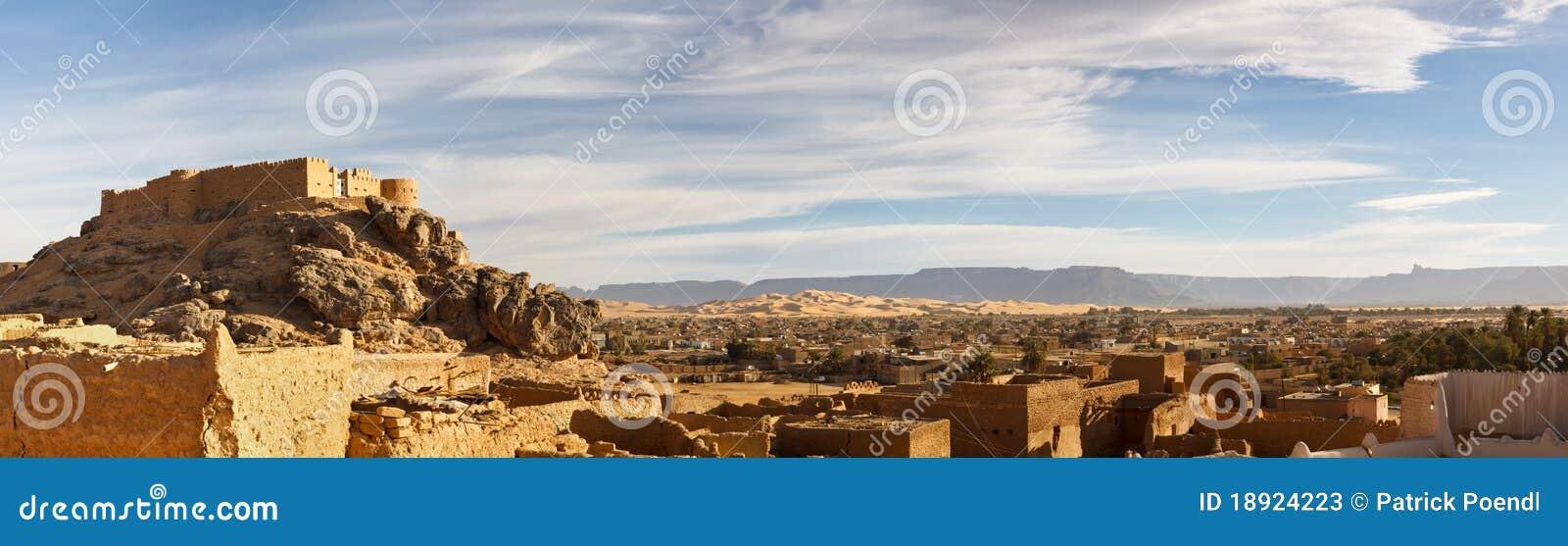 Acacus akakus miasta ghat Libya góry