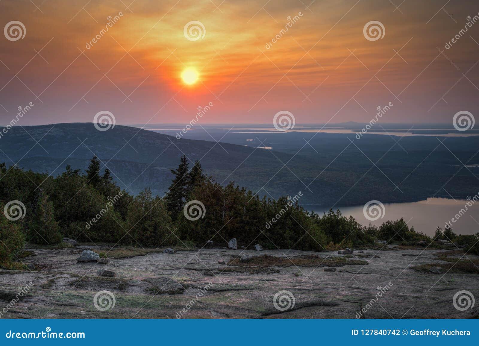 Acadia εθνικό πέρα από το ηλιοβα&