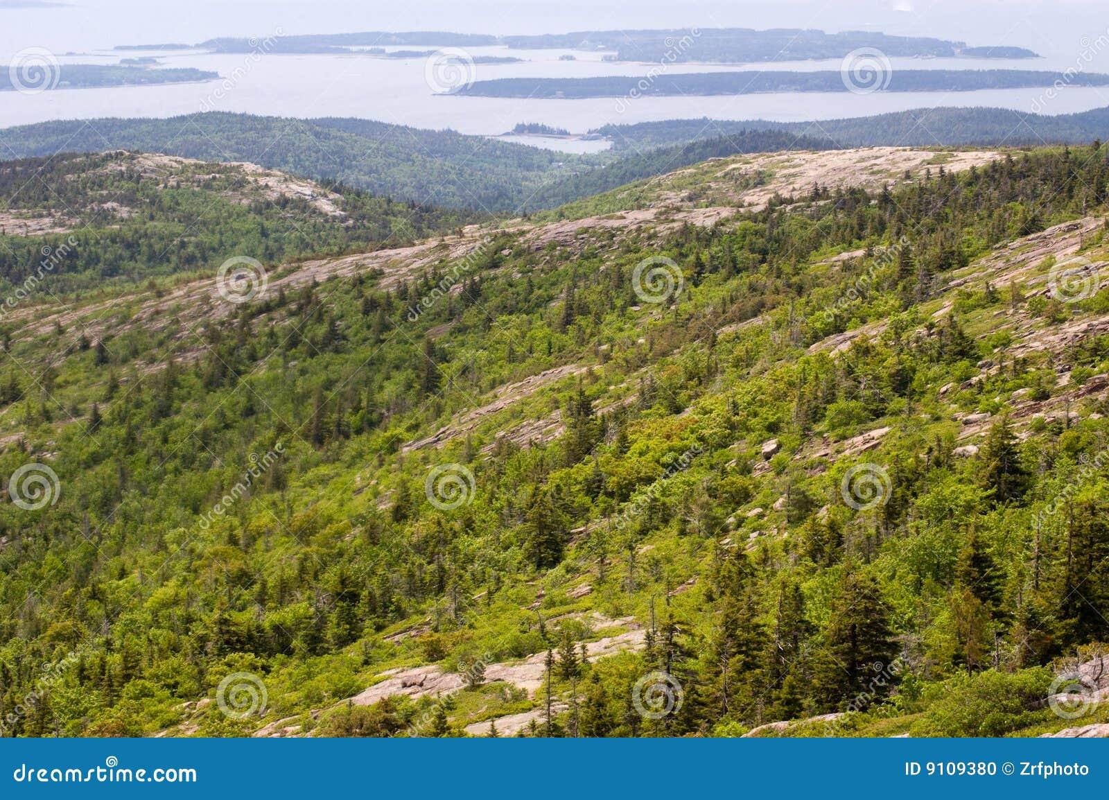 Acadia szczyt górski widok