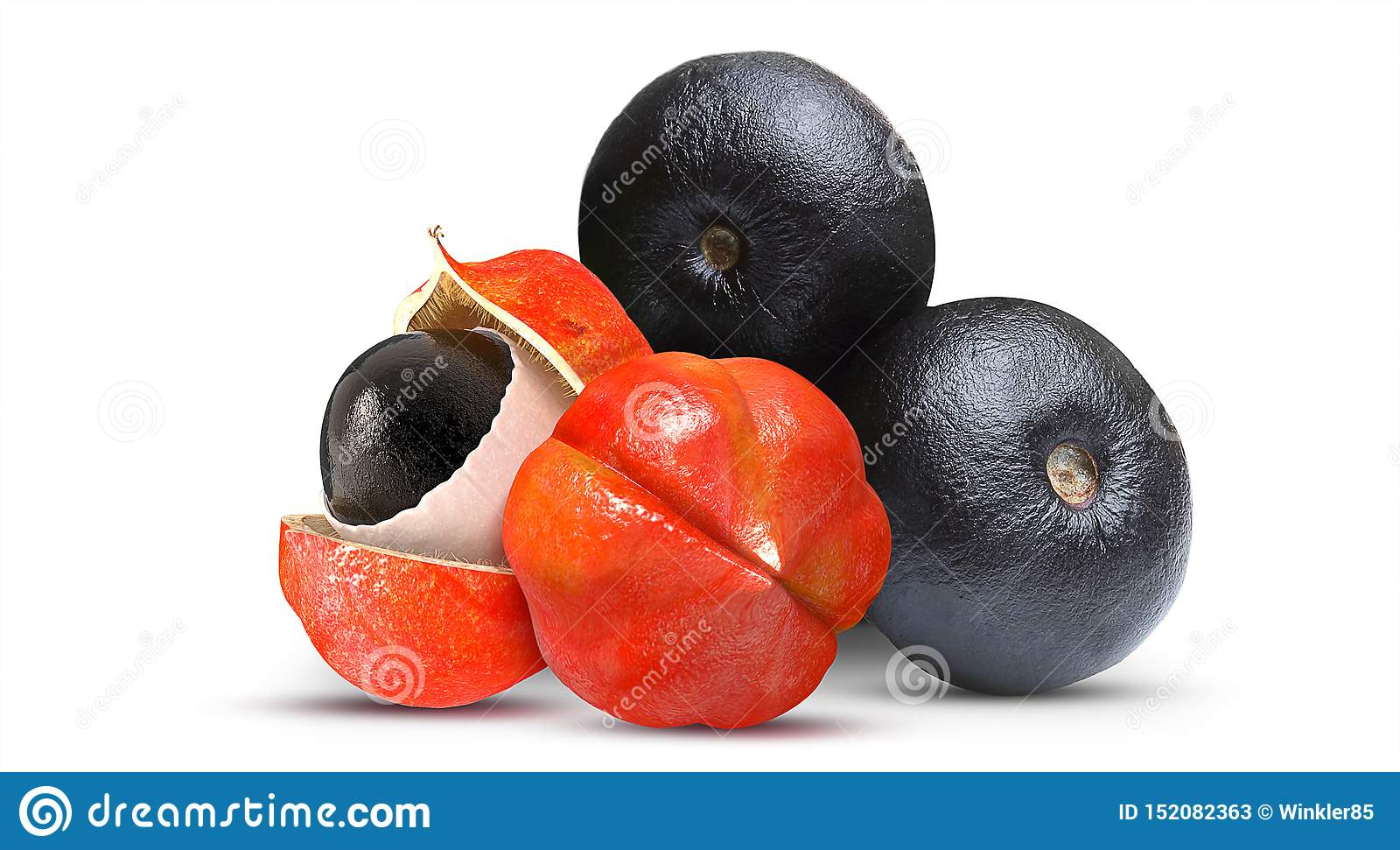 Acai en Guarana-Fruit Braziliaans fruit
