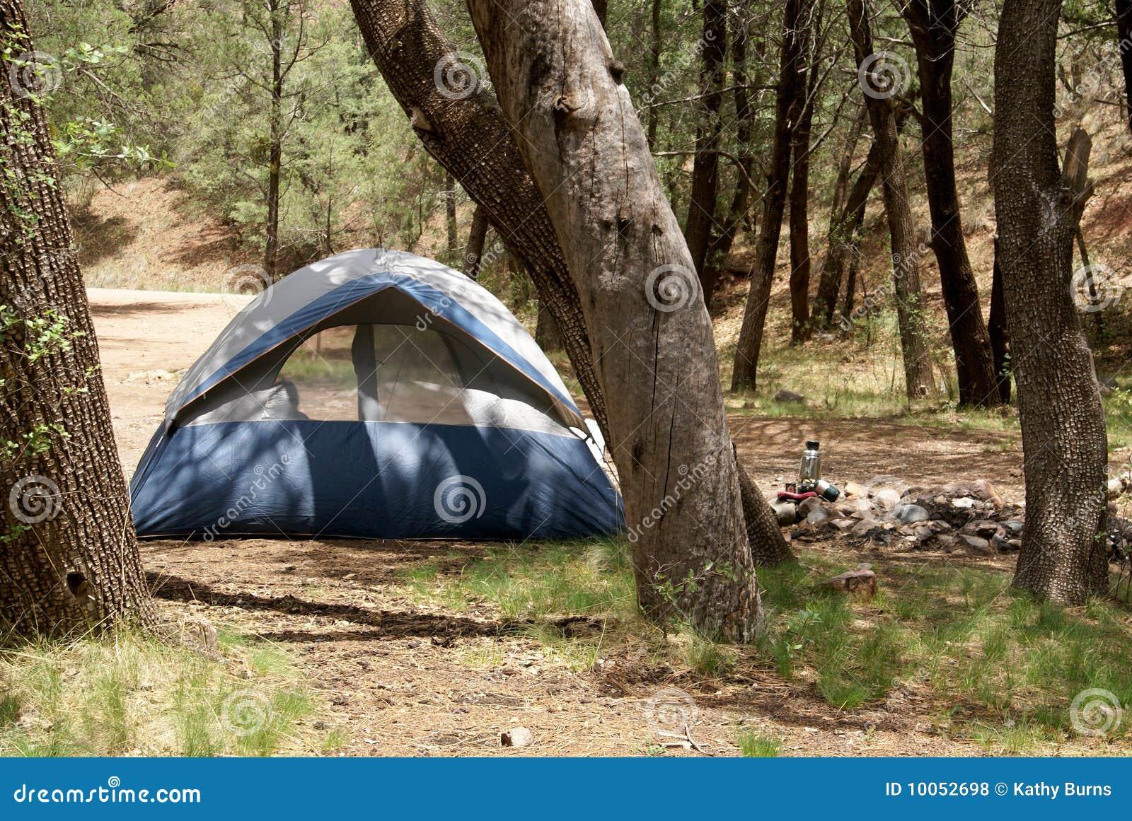 Acampamento da barraca