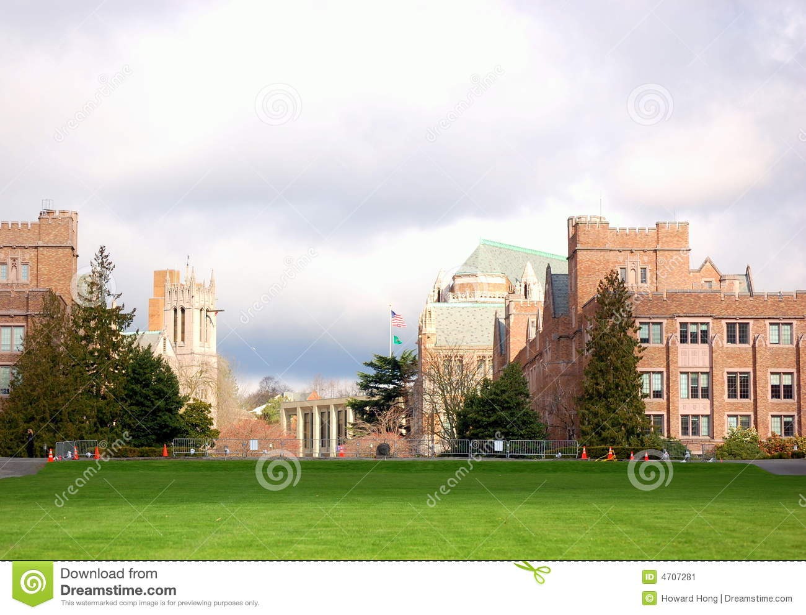 Acampamento da universidade