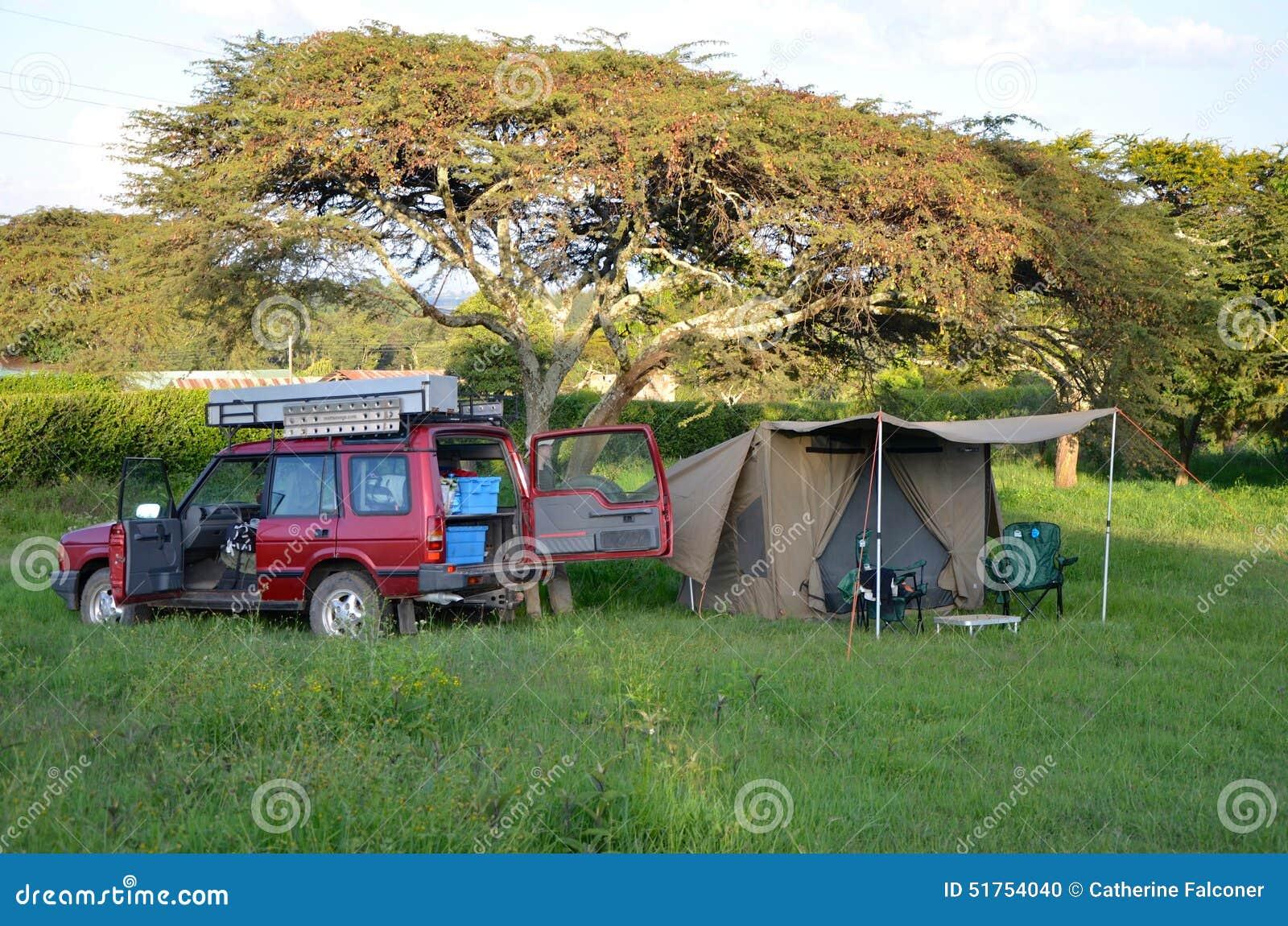 Acampamento do safari