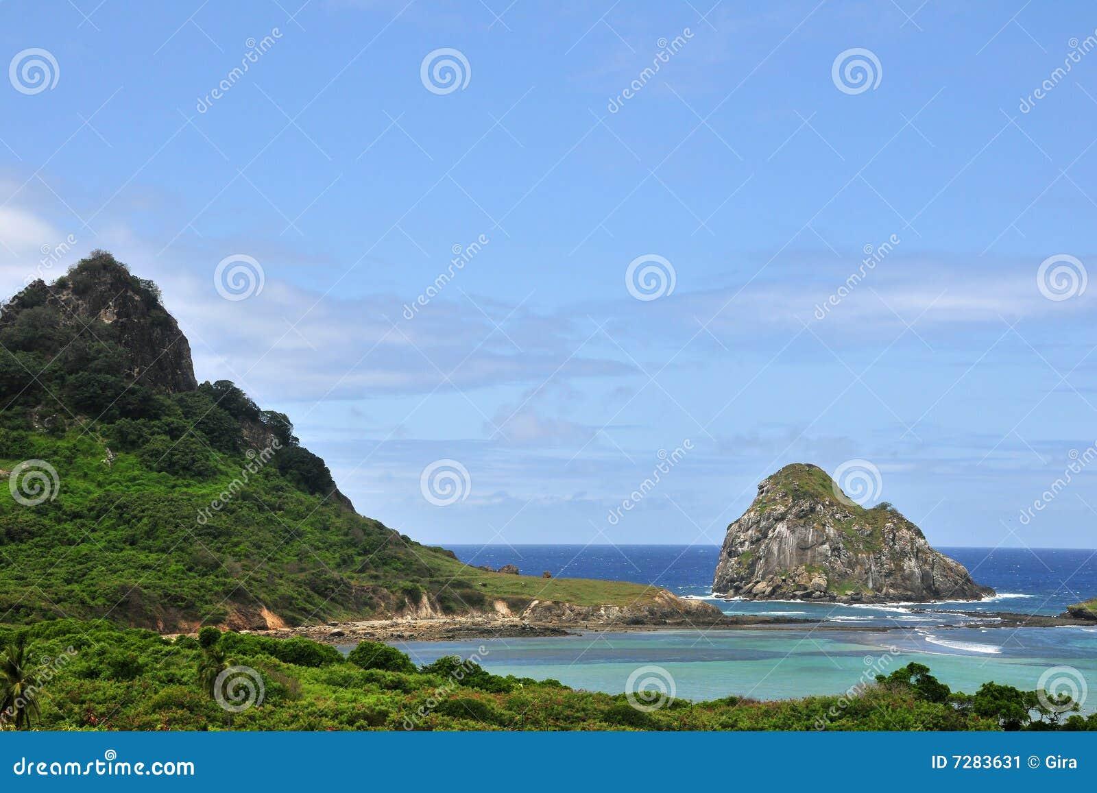 Acantilado de la roca