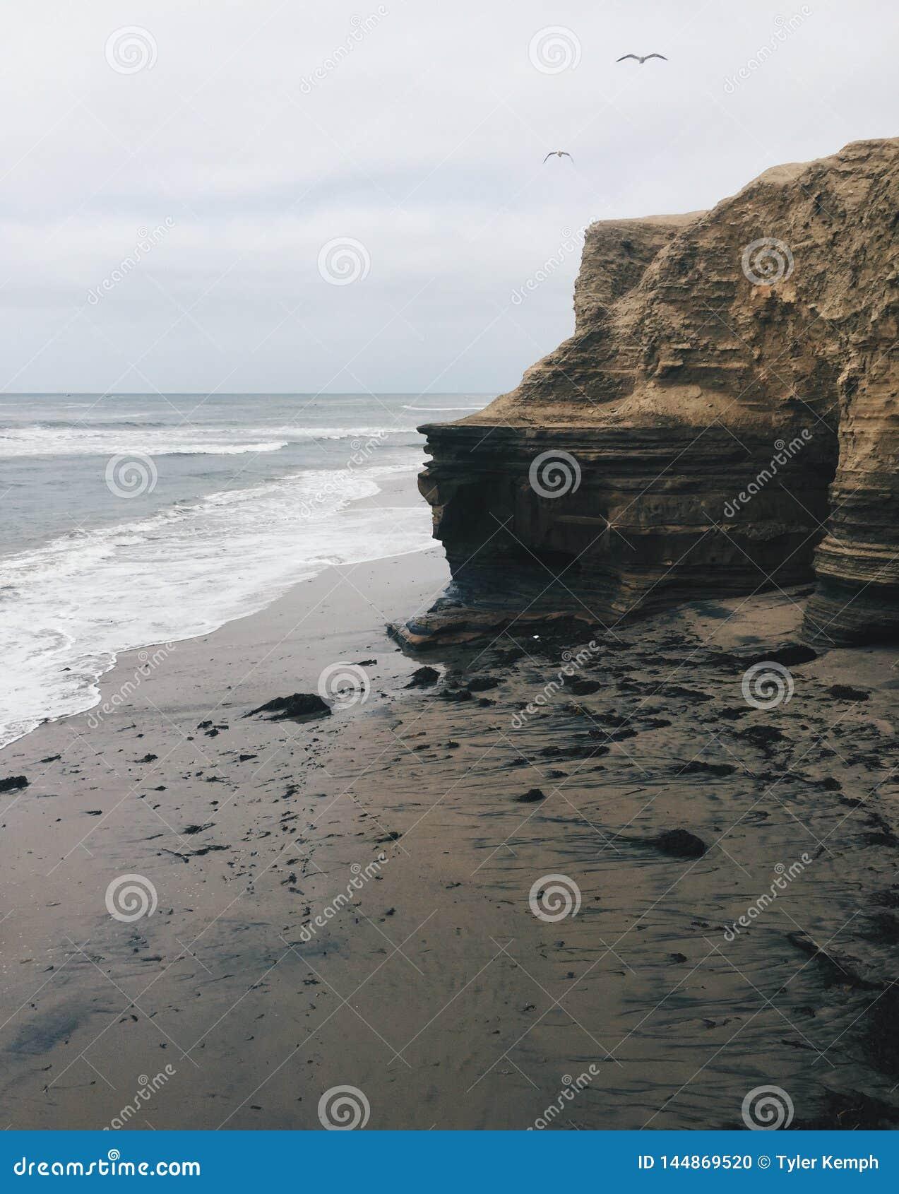 Acantilados en San Diego California