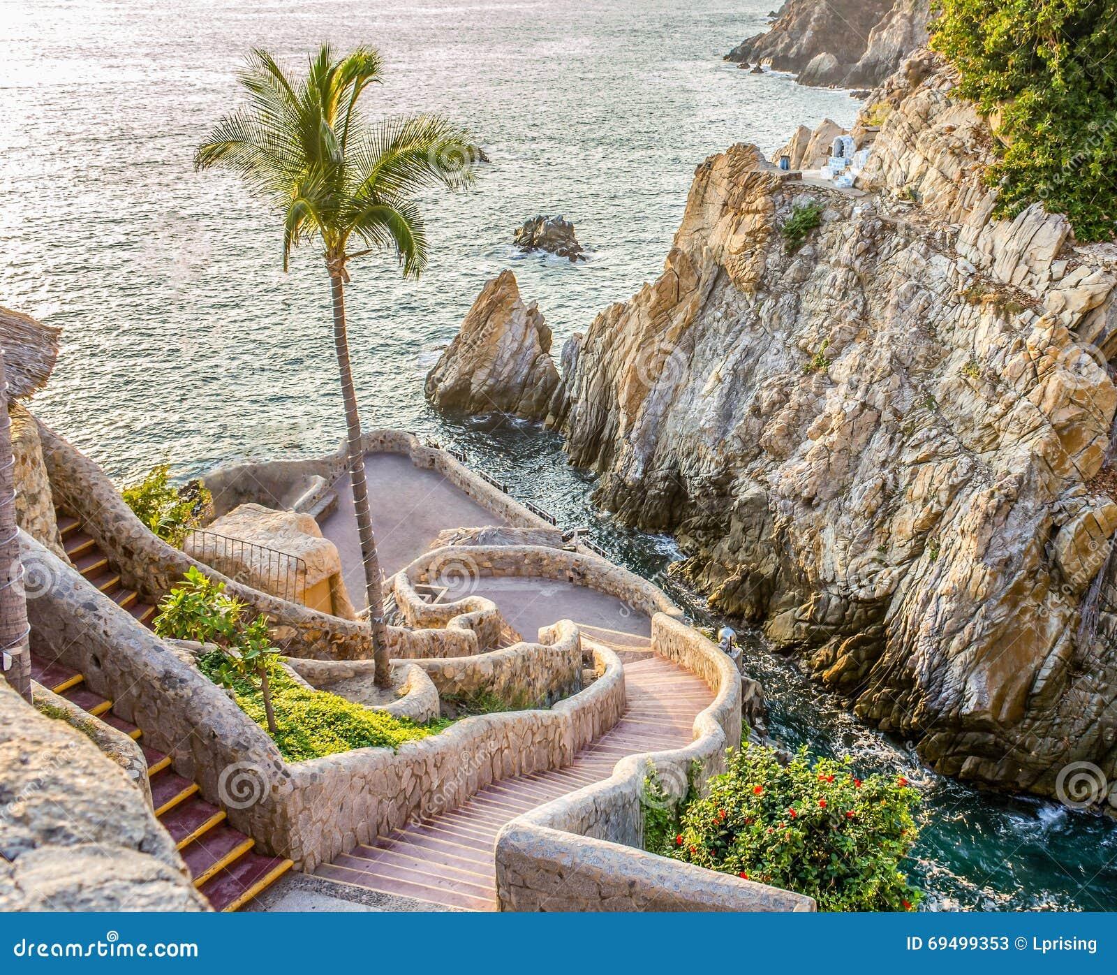 Acapulco cliff