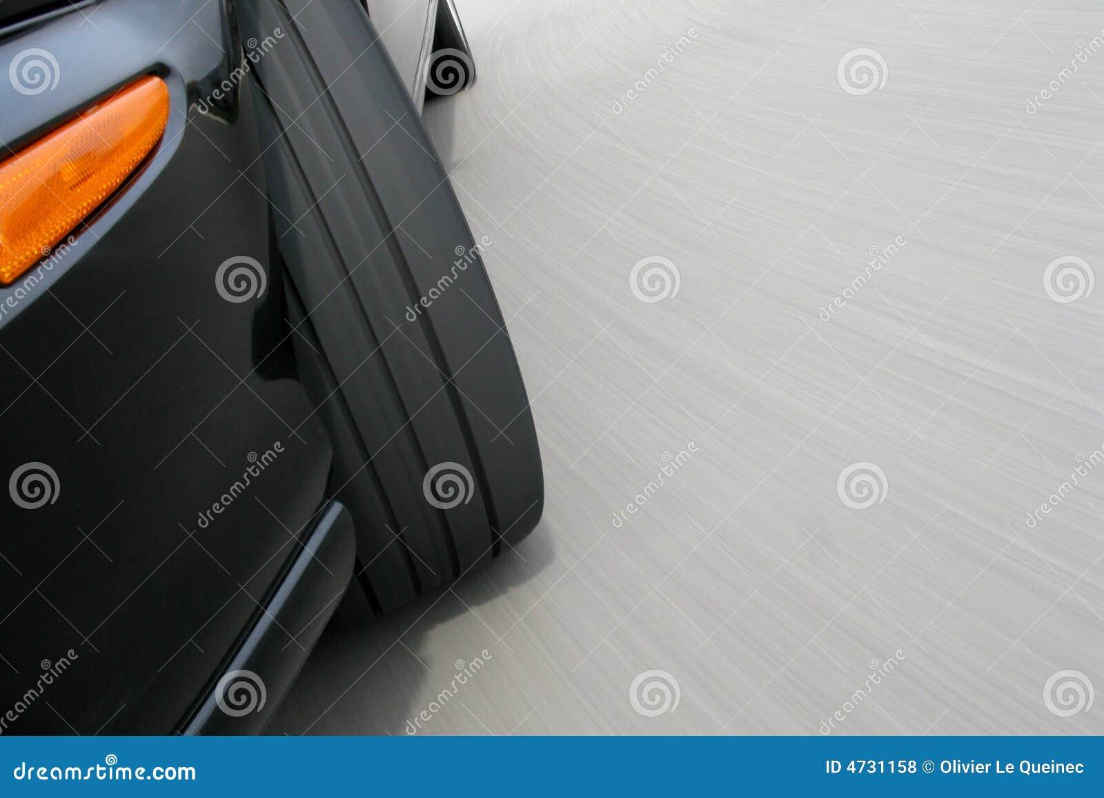 Accantonare dell automobile veloce