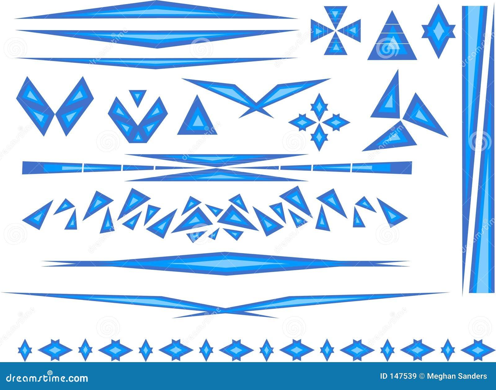Accenti in azzurro