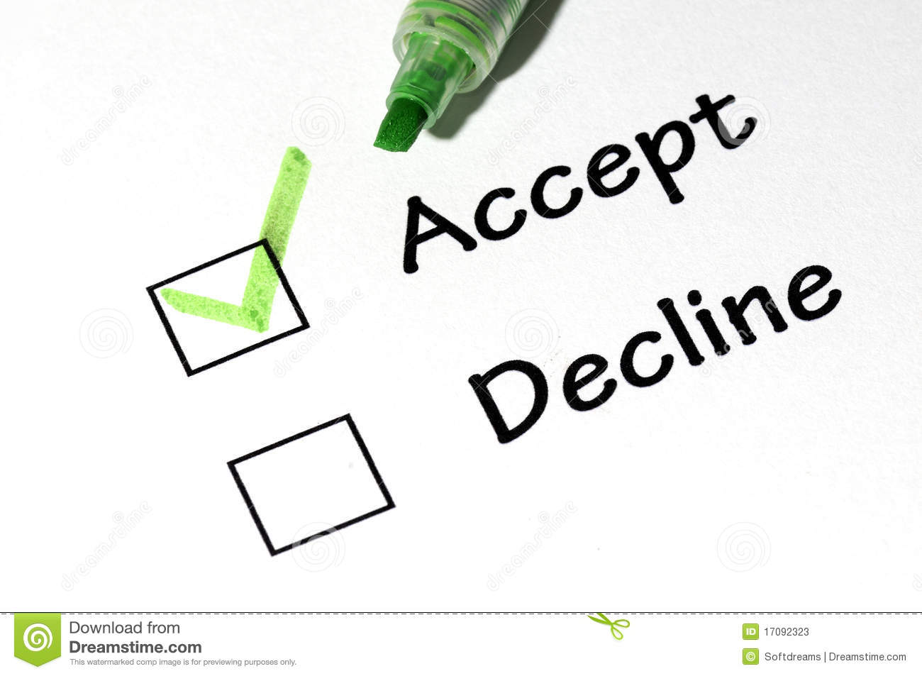How to Accept or Decline Offer Letter