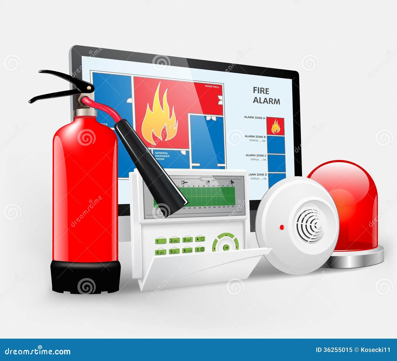 Acceso - alarma de incendio