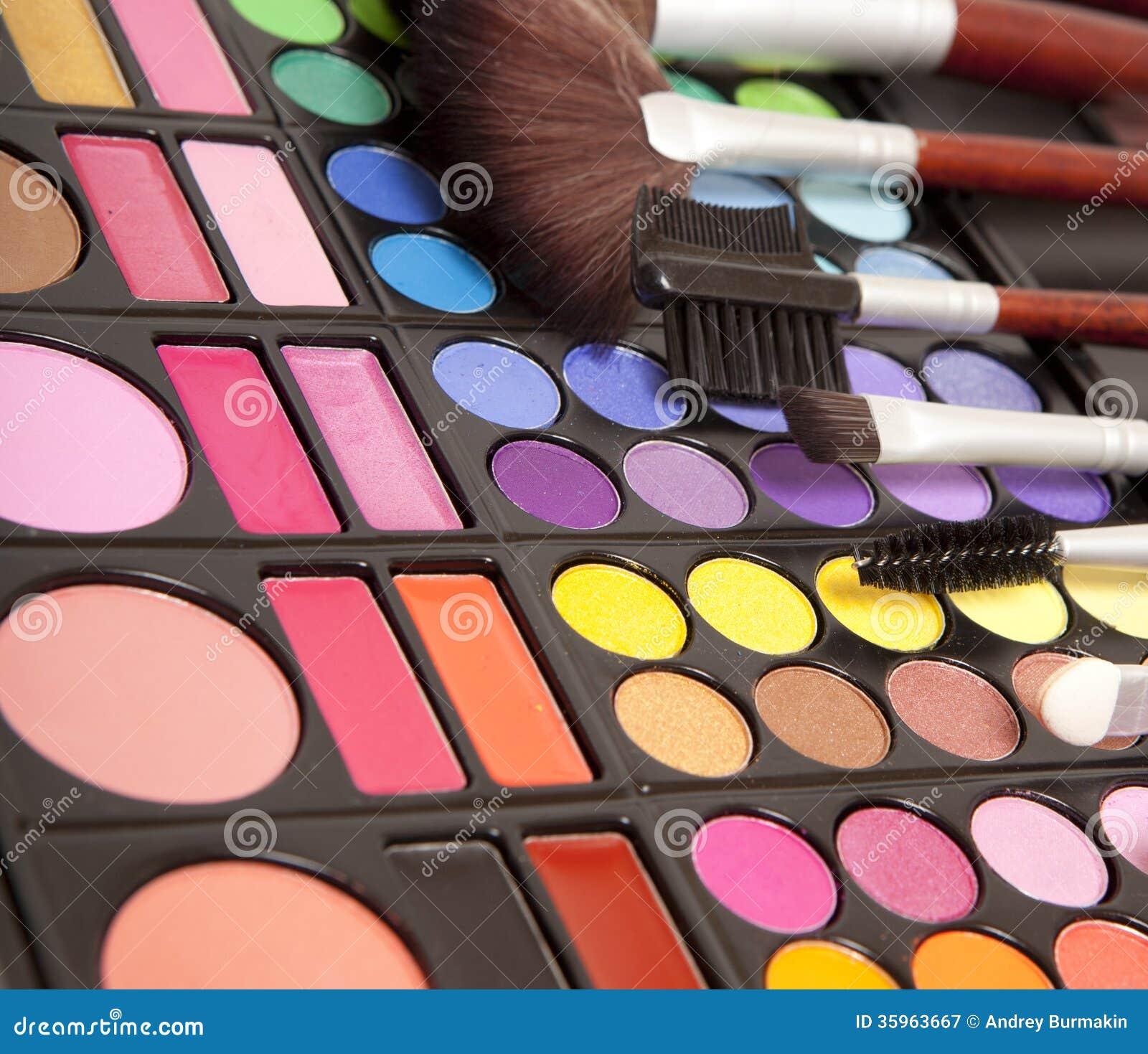 Accesorios del maquillaje