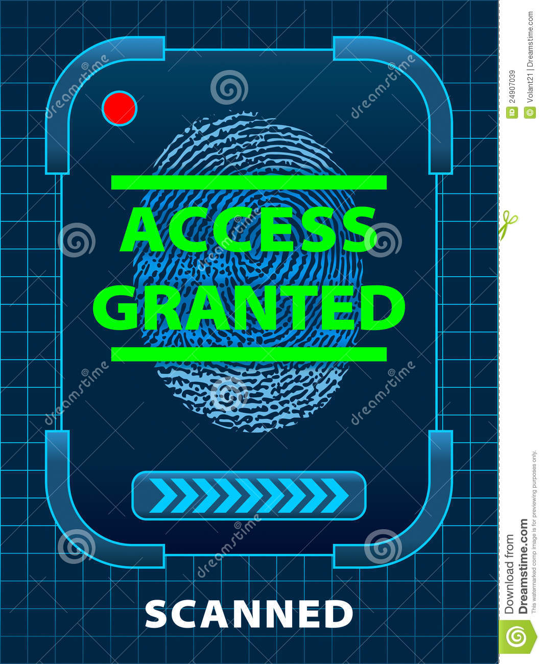 Access Granted Royalty Free Stock Images - Image: 24907039