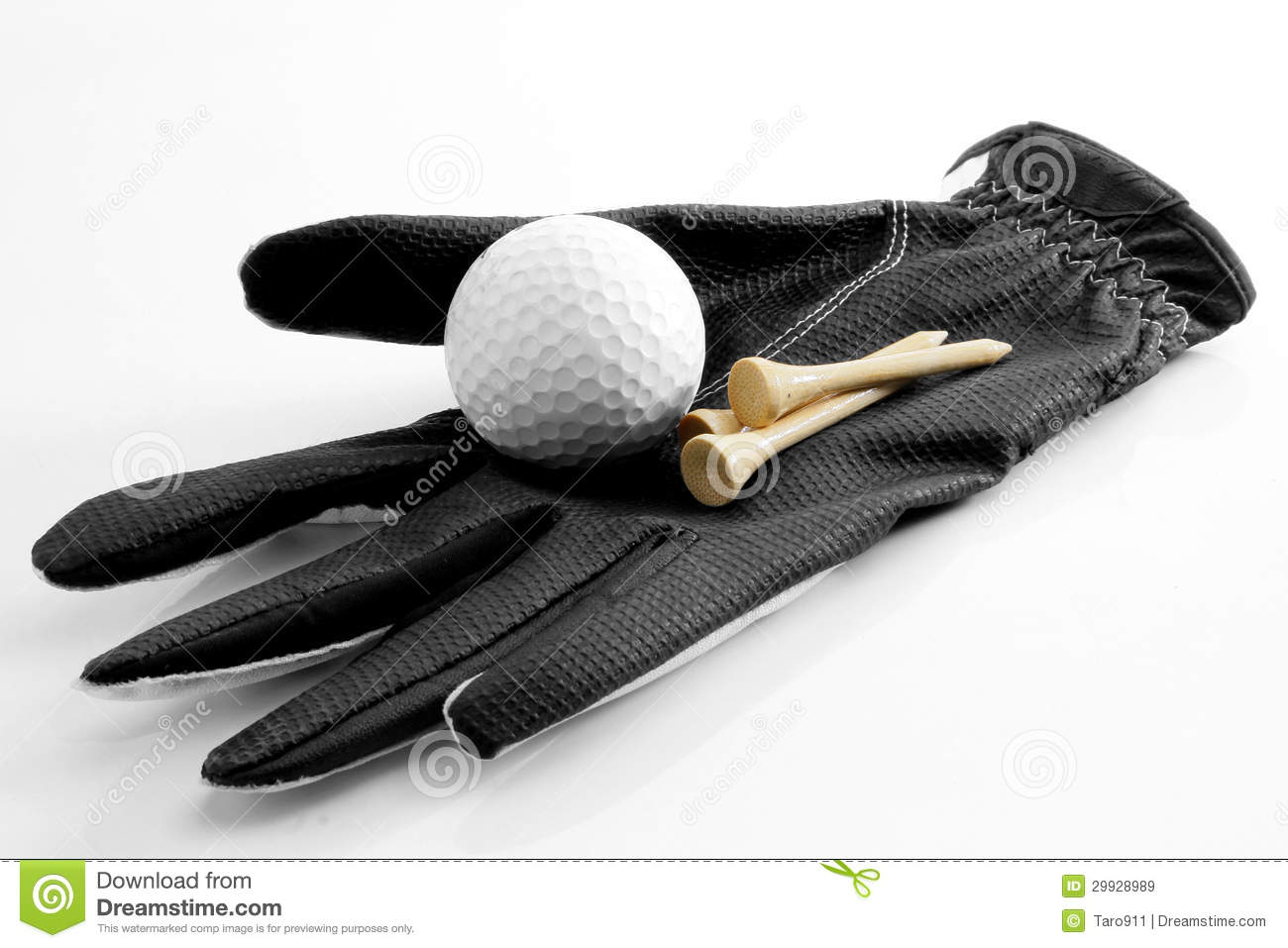 accessoire de golf image stock image du golfing closeup 29928989. Black Bedroom Furniture Sets. Home Design Ideas