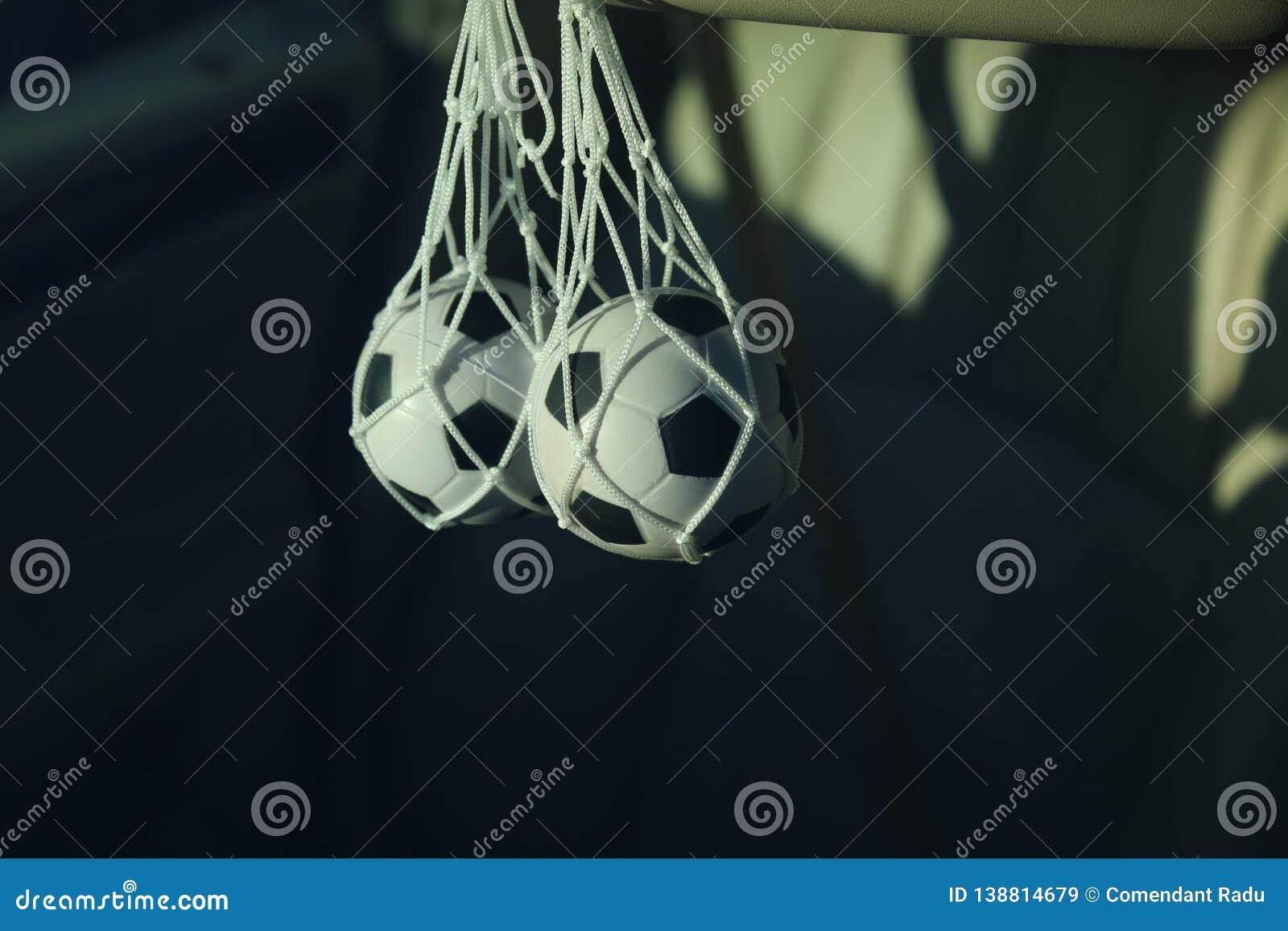 Accessoire pour la voiture sous forme de ballon de football