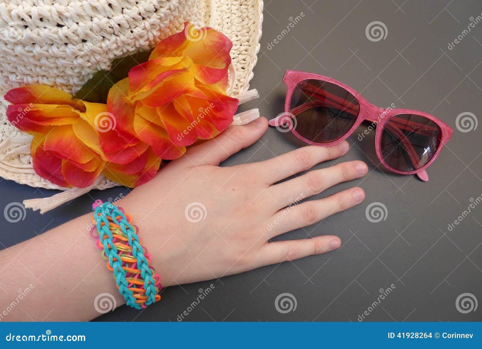 Accessoires de mode de jeunes filles