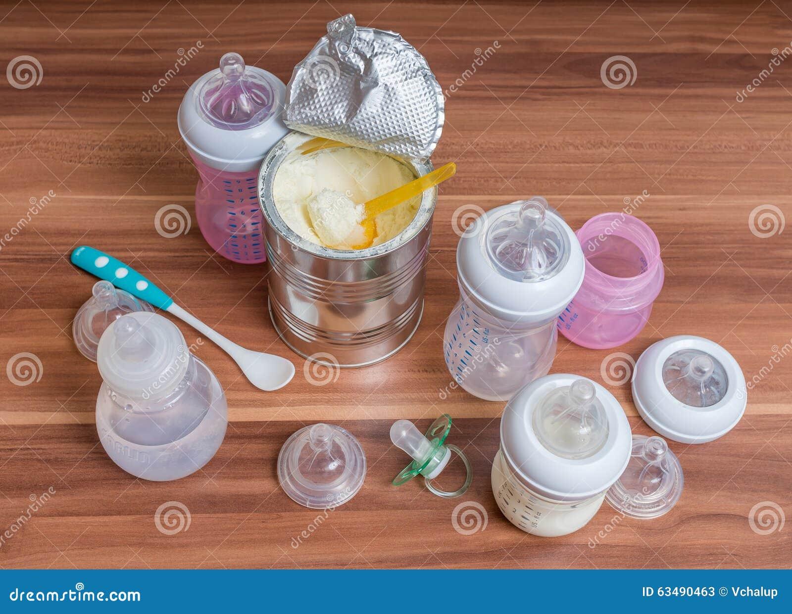 Accessoires pour les biberons, les trayons et la formule de alimentation de lait