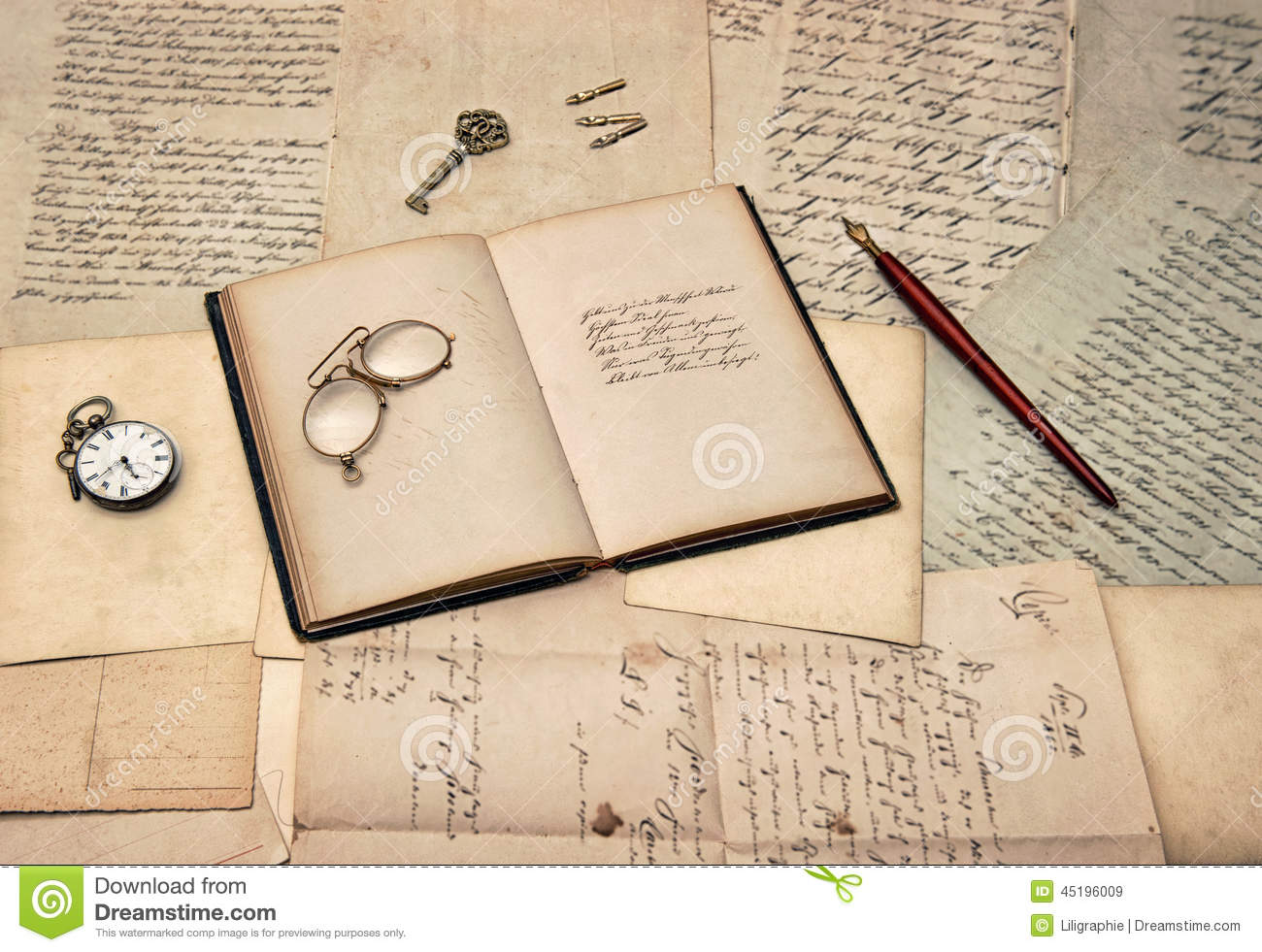 book letter writing