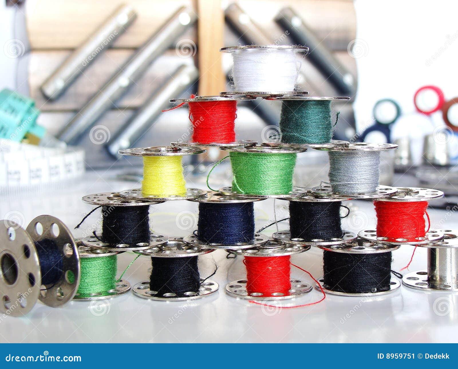 Accessori di cucito immagine stock immagine di mestiere for Accessori cucito