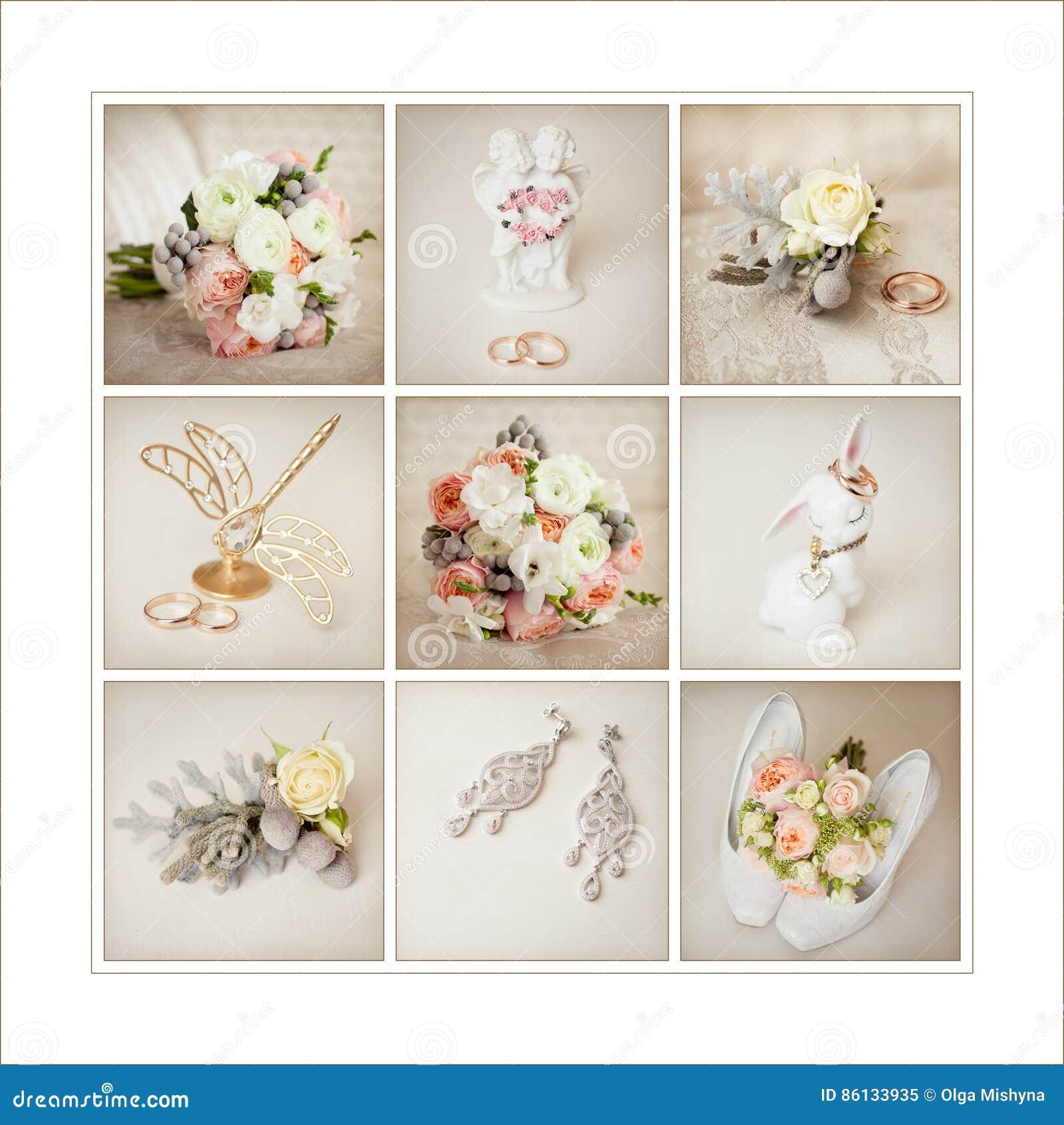 Accessori di nozze del ` s della sposa