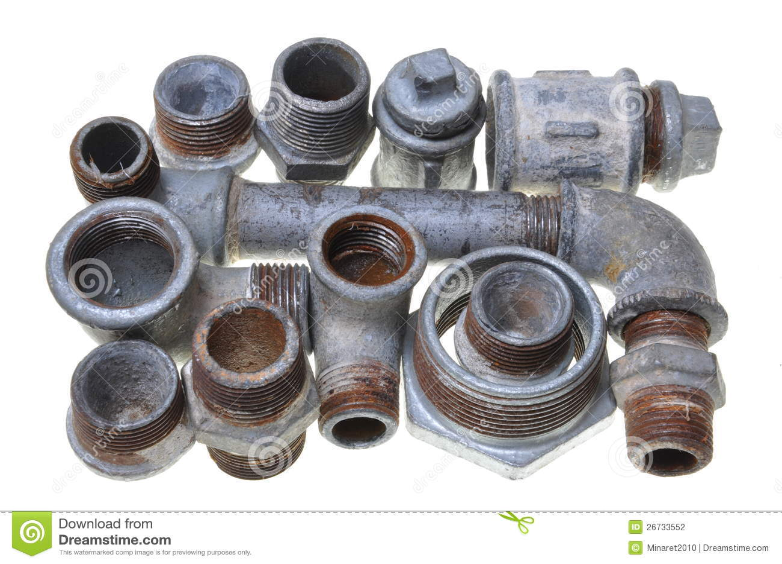 Accessori per tubi del ferro per l 39 impianto idraulico for Migliori tubi per l impianto idraulico