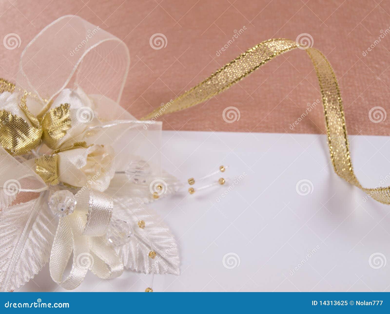 Accessorie di cerimonie nuziali un occhiello