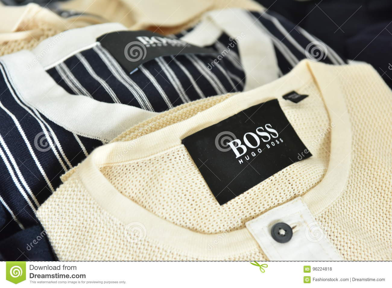 nice cheap another chance super popular Accessories Backstage At The BOSS - Hugo Boss Show During ...