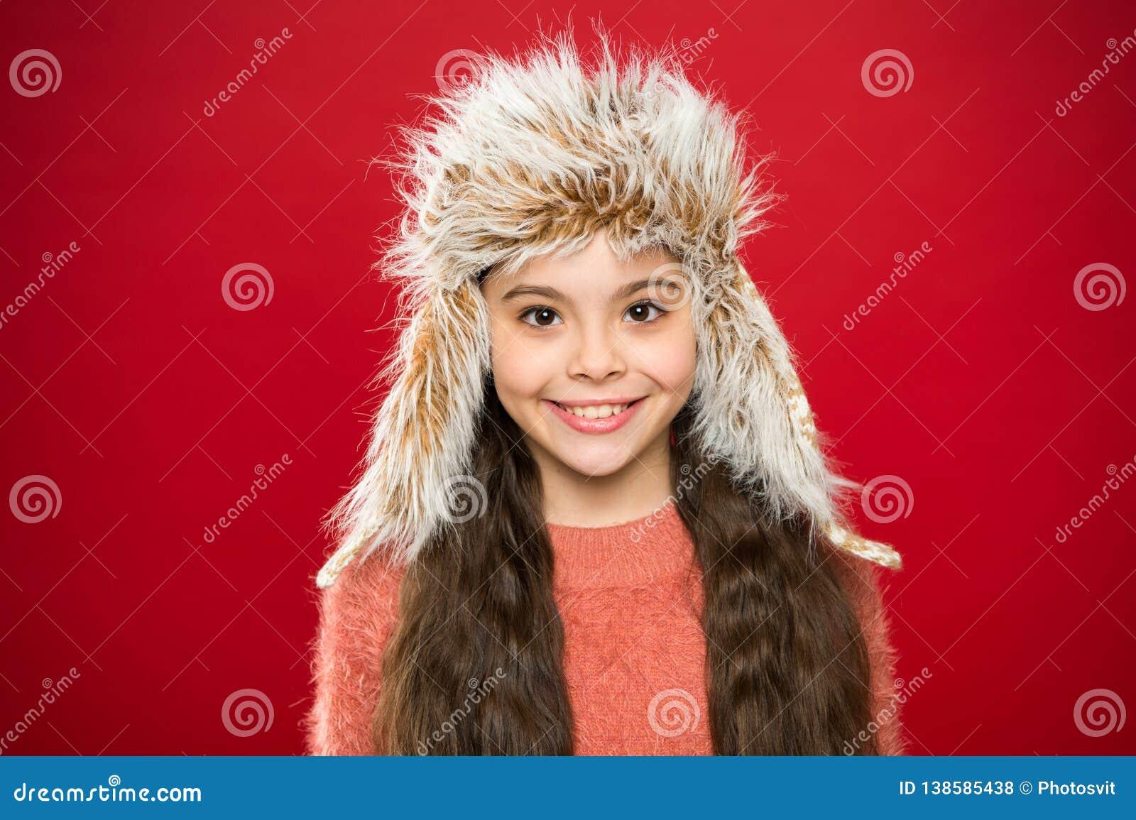 Accessorio simile a pelliccia molle Punte per preoccuparsi per gli indumenti della pelliccia Cappello molle dei capelli lunghi de