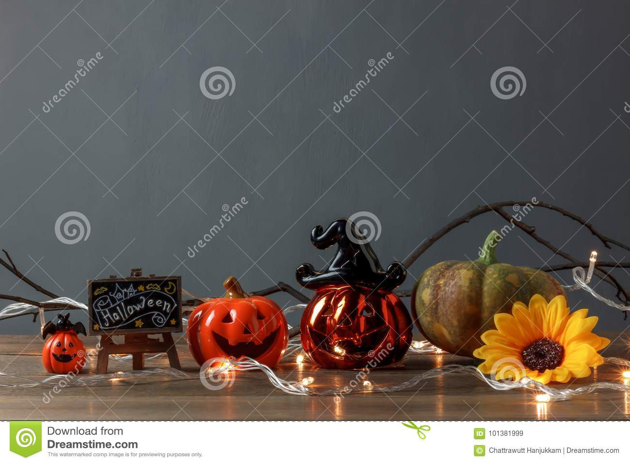 Accessory of Happy Halloween Festival concept.Essential decorations
