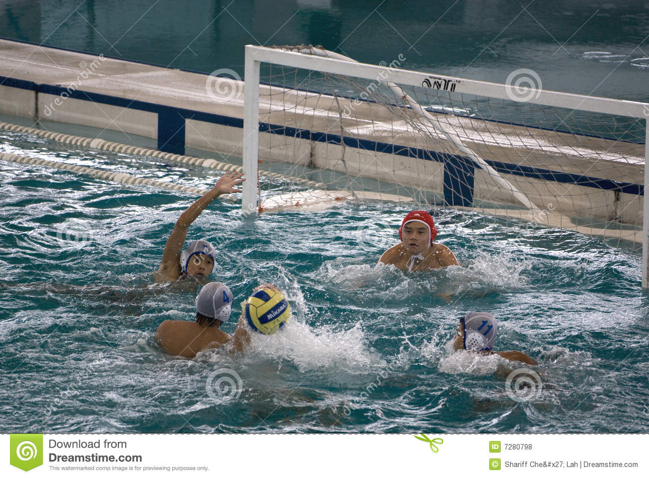 Acción del water polo