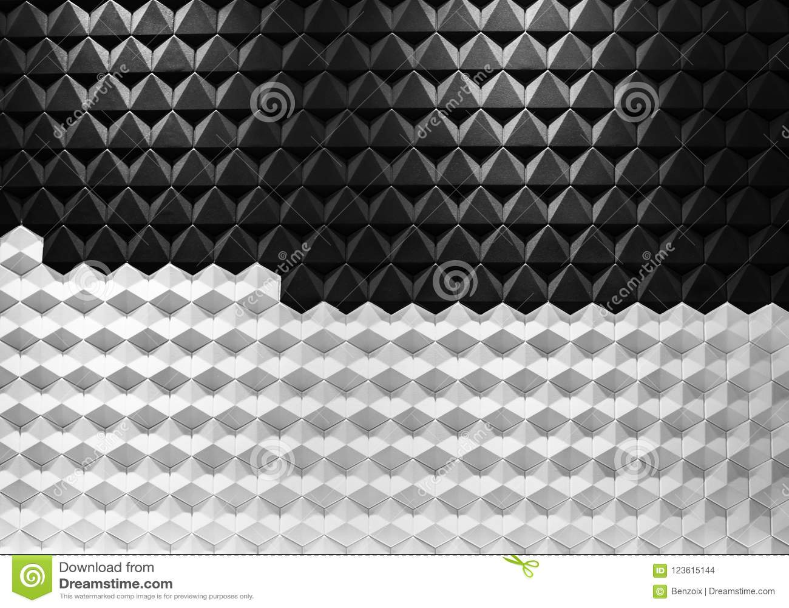 Acciaio in bianco e nero di architettura moderna, progettazione architettonica, concetto del fondo di architettura