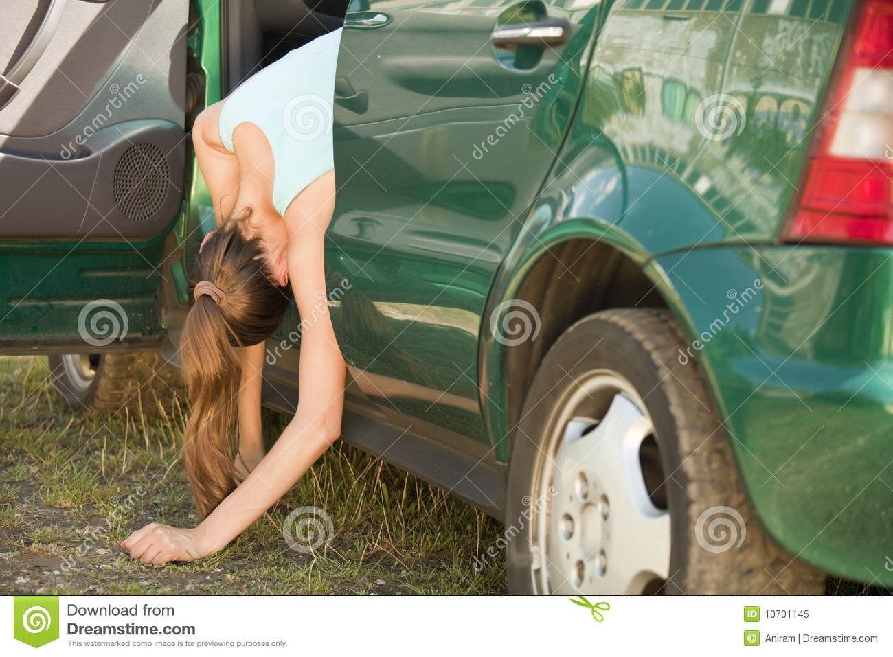 Accident with car stock image. Image of outdoor, injury - 10701145
