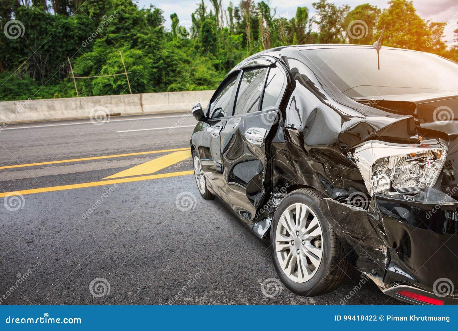 Accident d accident de voiture