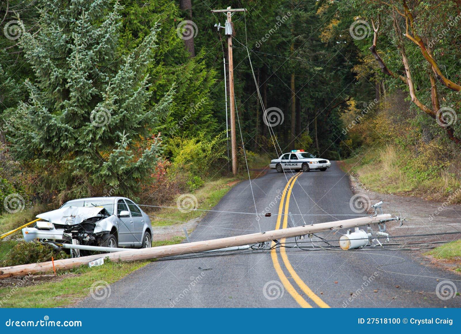 Accident de véhicule à moteur