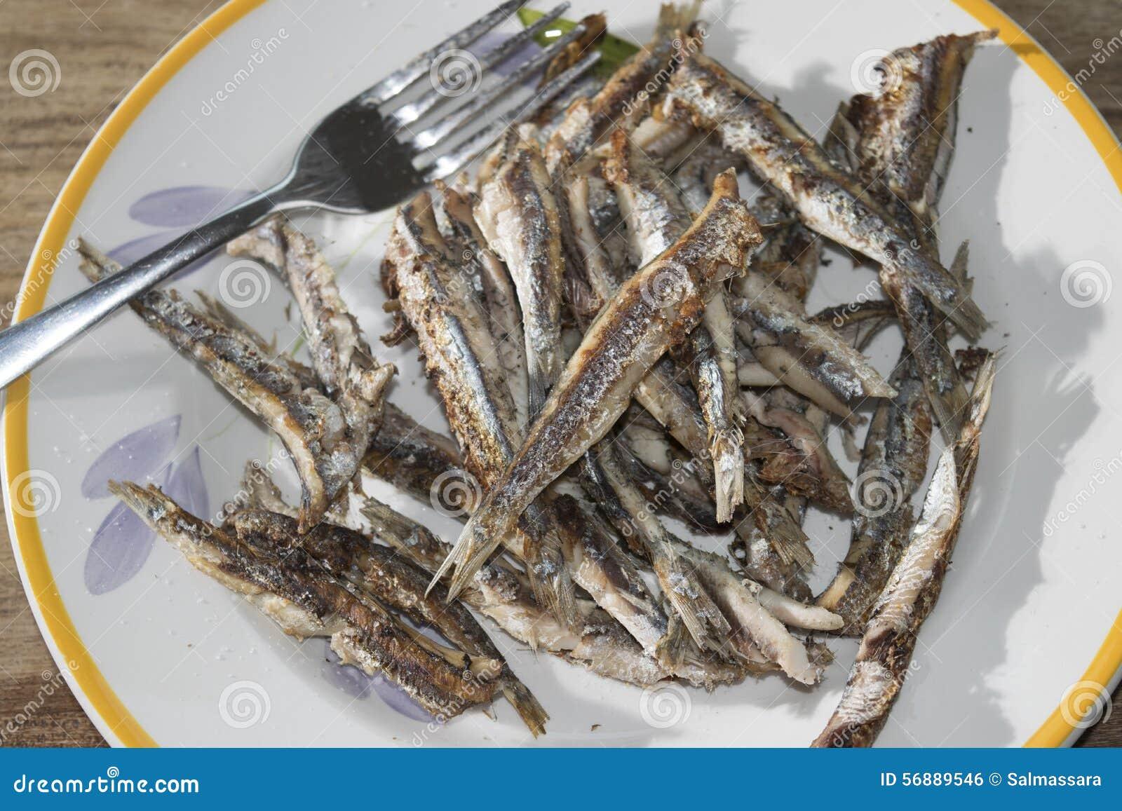 Acciughe arrostite