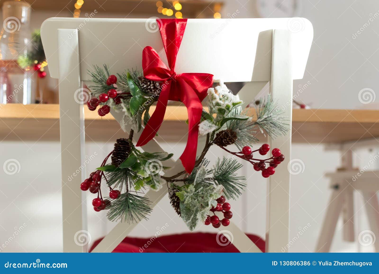 Cucina Natale 2019.Accogliente Decorato Con Le Decorazioni Di Natale Con La