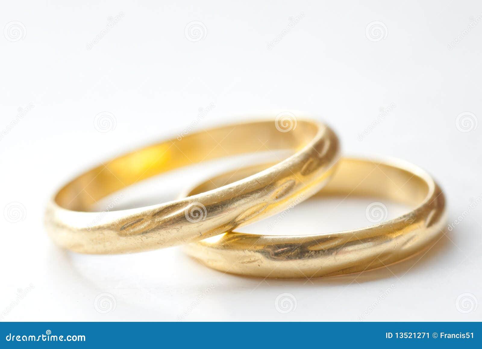 Accoppiamenti degli anelli di cerimonia nuziale dell oro