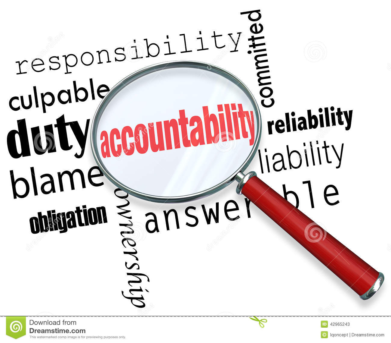 responsibility accountability Practice policy: professional responsibility and accountability page 3 of 6 the hpa provides a legal definition for incapacityan individual is considered incapacitated if they are suffering from a physical, mental or emotional.