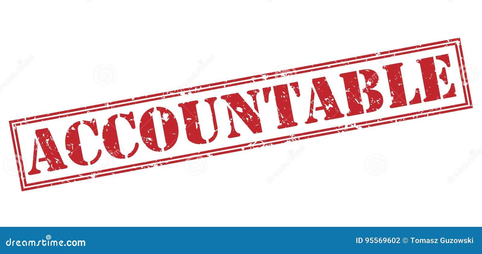 Accountable stamp