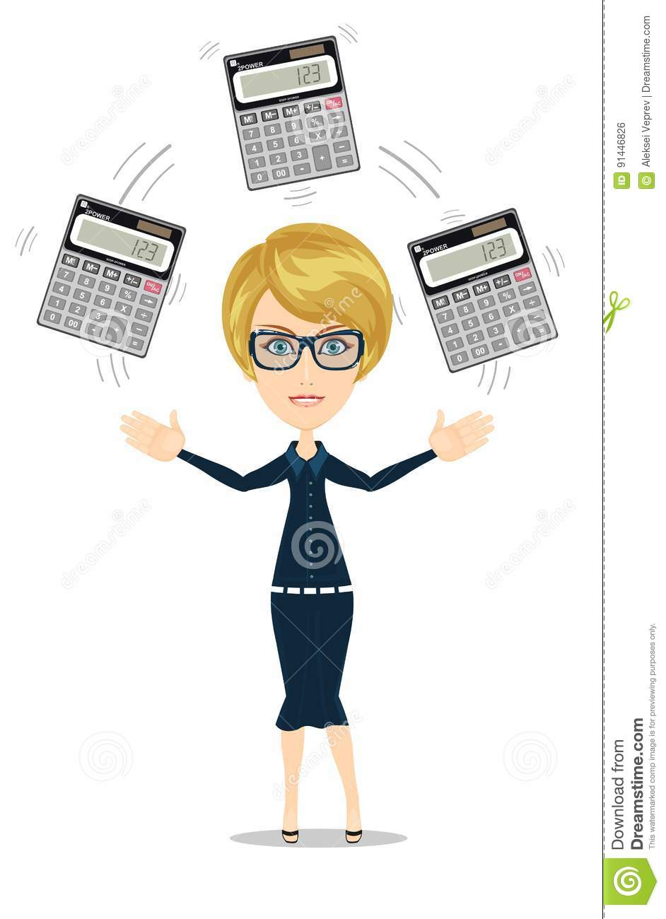 Bookkeeper Cartoons, Illustrations & Vector Stock Images ...