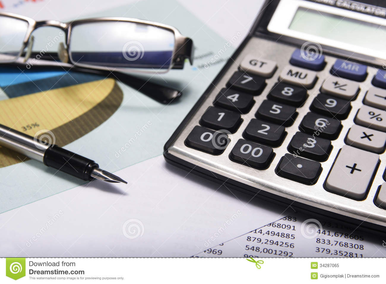 Accounting And Finance Royalty Free Stock Photo - Image: 34287065