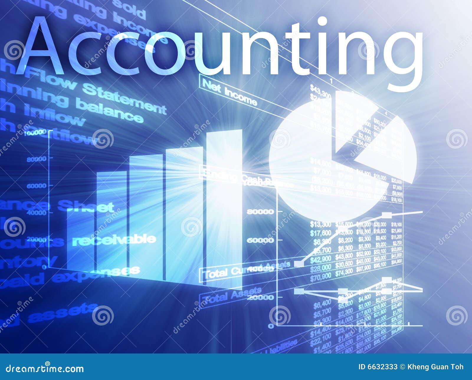 accounting illustration stock illustration  image of profits