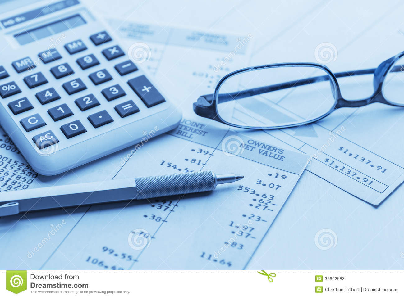 Accounting Stock Image Image Of Money Diagram