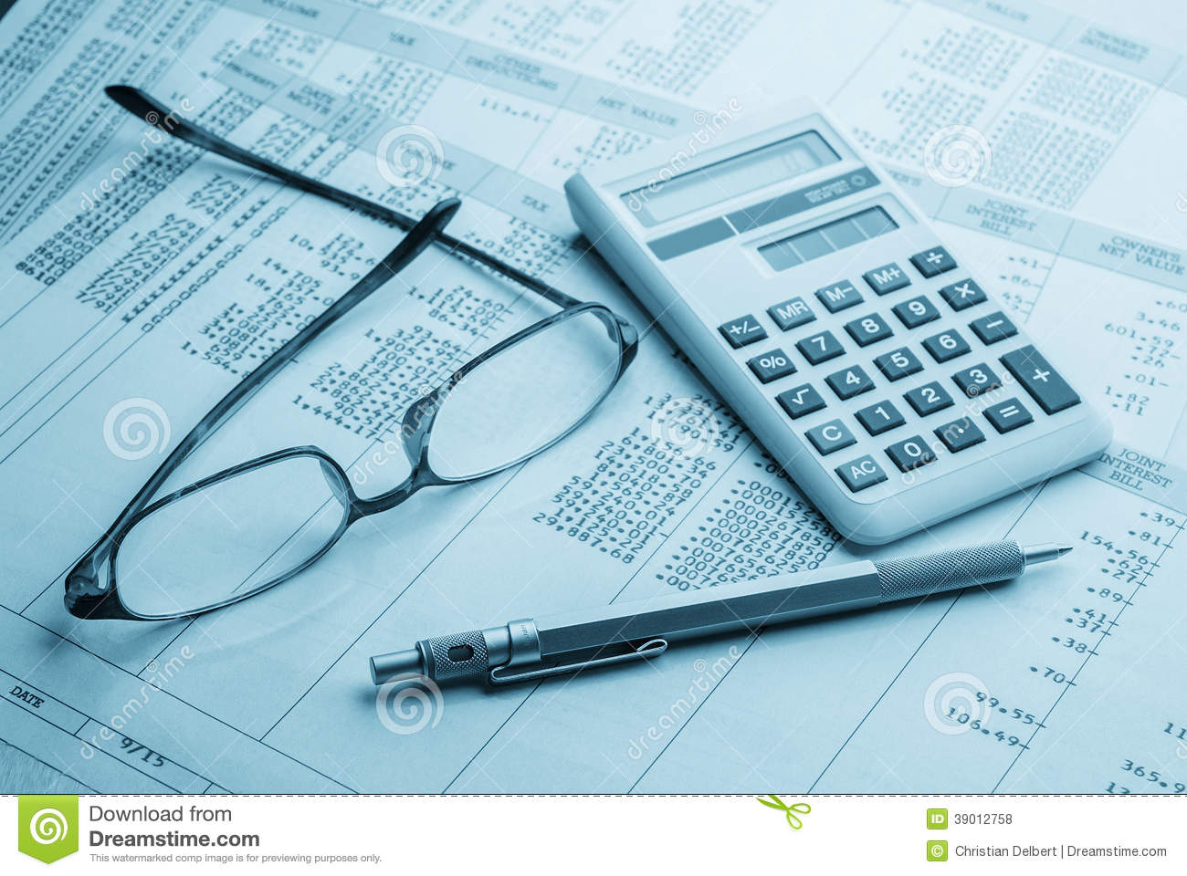 Accounting Stock Photo Image Of Financial Forecast