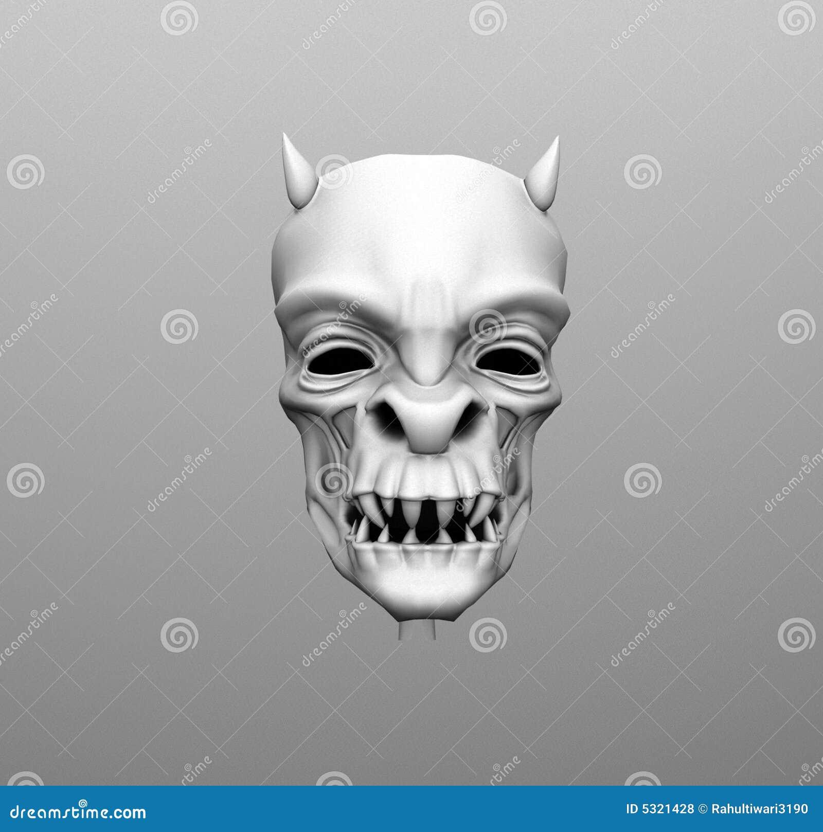 Download Accumulazione dei crani 3d illustrazione di stock. Illustrazione di testa - 5321428