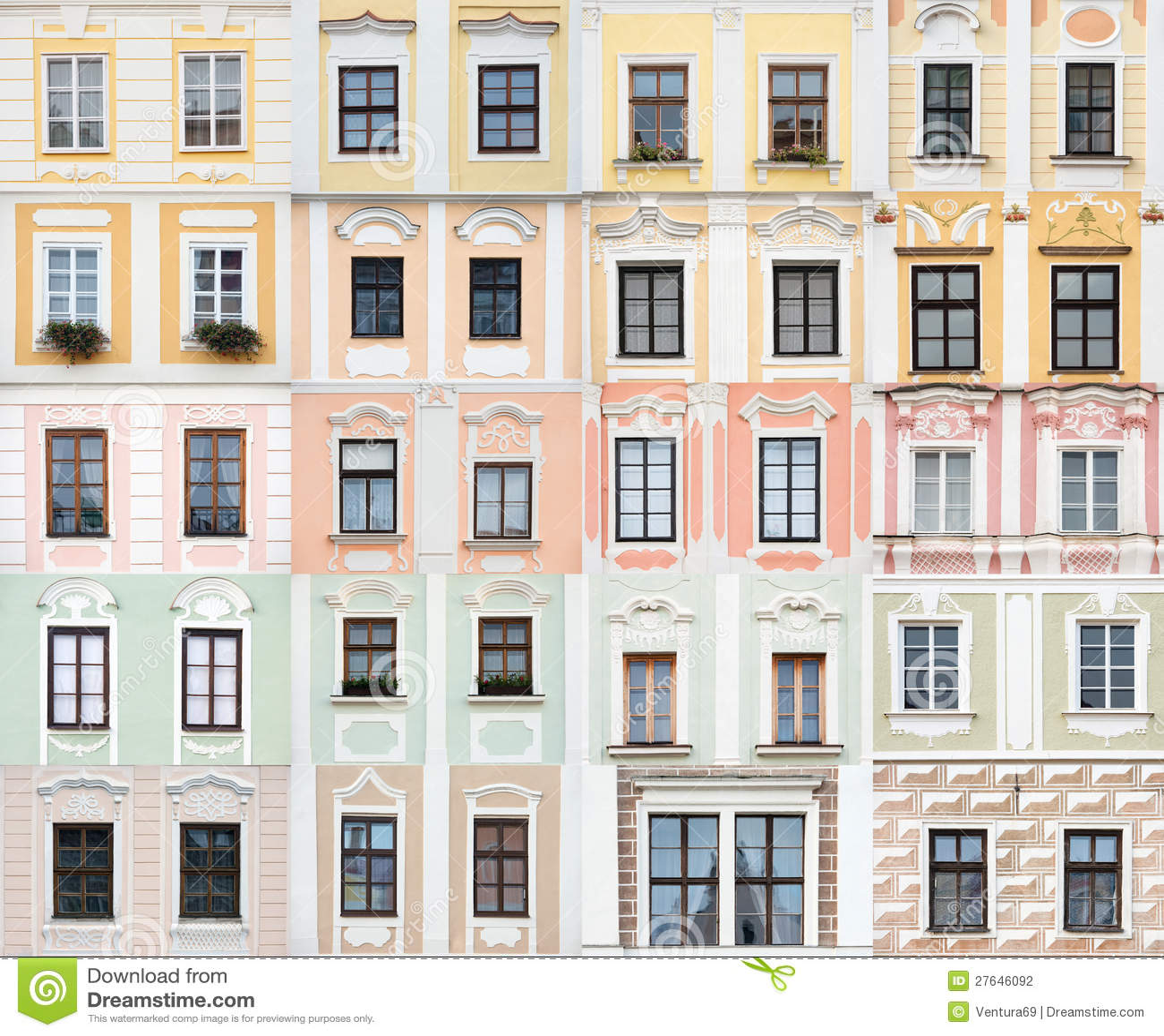 Accumulazione delle finestre da telc repubblica ceca - Gruppo re finestre ...