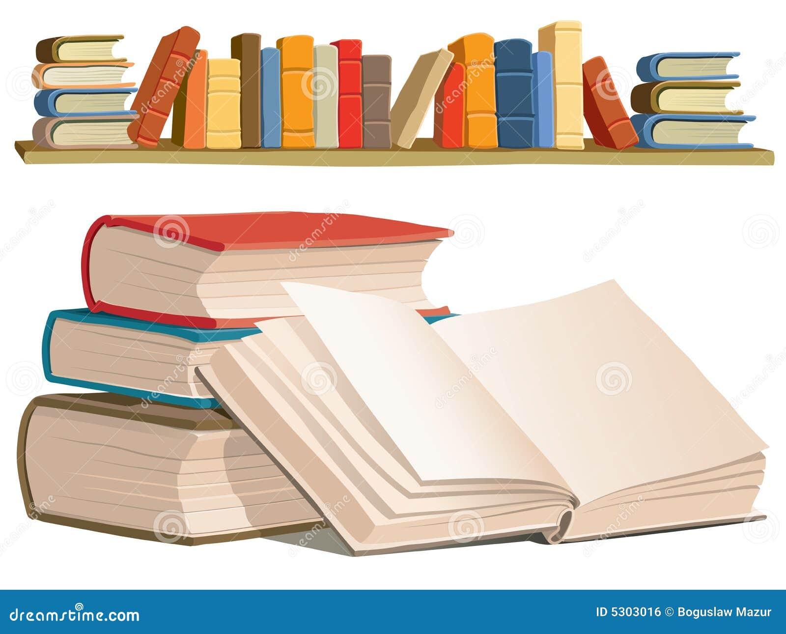 Download Accumulazione di libri illustrazione vettoriale. Illustrazione di catalogo - 5303016